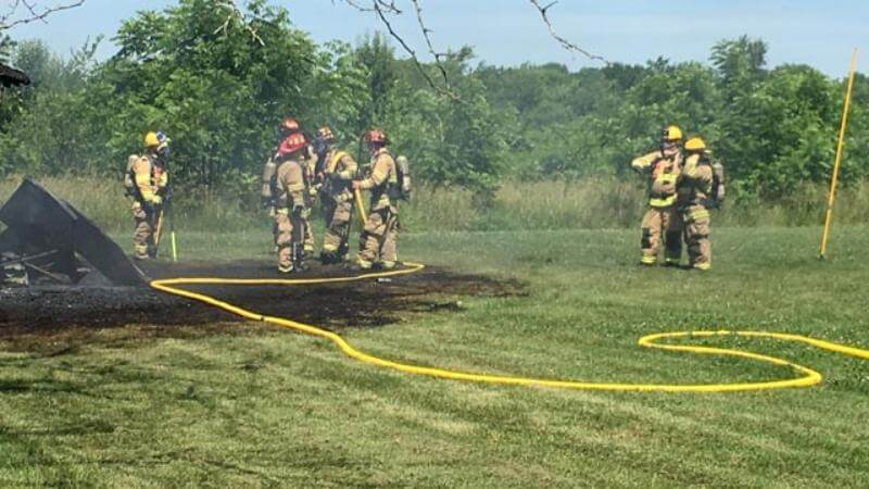 Fire in shed at church burns man near Springfield – KY3 com