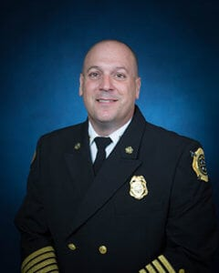 Jarett Metheny, Fire Chief